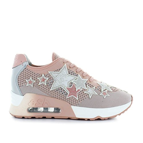 Star Women's Ash Summer Nude Lucky Pink Shoes 2018 Spring Sneaker At1q1Zvwx
