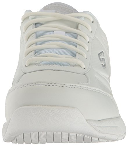 Shoe White Women's Work Skechers Bricelyn Dighton Hqfz8w1