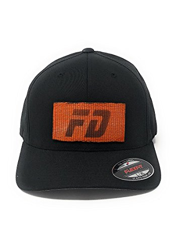 HotZone Swag Firefighter Flexfit Baseball Cap Fitted L - XL Embroidery Recycled Kevlar FD Logo - Sun Mall East