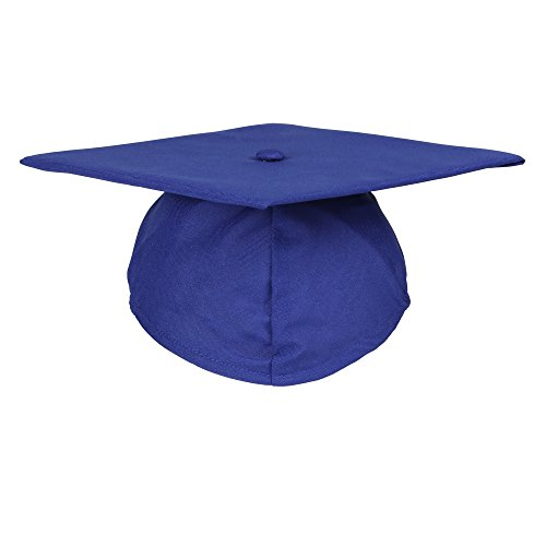 - Newrara Unisex Matte Adult Graduation Cap Only (Royal)
