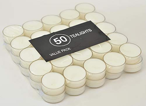 MIster Candle - 1200 Pcs Bulk Clear Cup Tealight Candles - 5 Hour Burning Time - Perfect for Hotels, Restaurants, Spas, Events