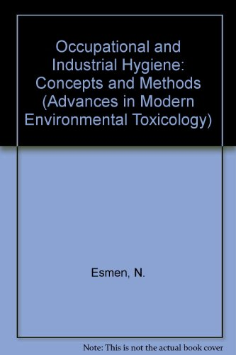 Occupational and Industrial Hygiene Concepts and Methods: Concepts and Methods : A Symposium in Honor of Theodore F. Hat