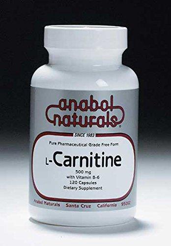 ANABOL NATURALS L-Carnitine 500mg by Anabol Naturals