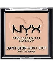 NYX PROFESSIONAL MAKEUP Can't Stop Won't Stop Mattifying Pressed Powder - Medium