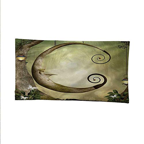 - Cartooncool tapestrytapestry for wallForest with Swing and Trees 93W x 70L Inch