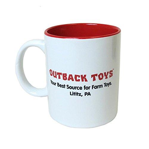 Outback Toys Lititz, PA Farm Scene 11 Oz Stoneware Mug