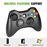 YCCTEAM Wireless Controller for Xbox 360, 2.4GHZ