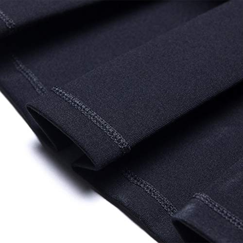 DISSA Ajoure Taille Grande Jupe Plisse Noir FS3112 Mini Club rwvqrC7