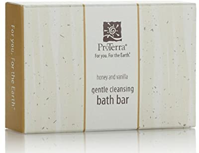 ProTerra Honey and Vanilla Gentle Cleansing Bath Soap Bar Lot of 12 Each 2oz bars