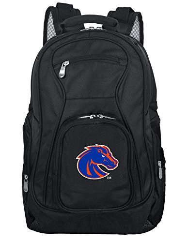 Denco NCAA Boise State Broncos Voyager Laptop Backpack, 19-inches, Black ()