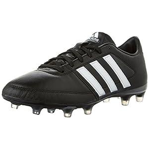 Adidas Performance Men's Gloro 16.1 FG Soccer Cleat, Black/White/Metallic Silver, 13 M US