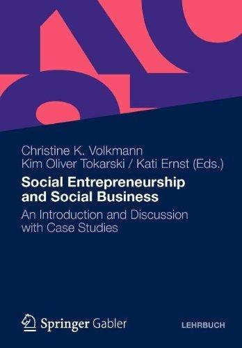 Social Entrepreneurship & Social Business. (Gabler Verlag,2012) [Paperback]