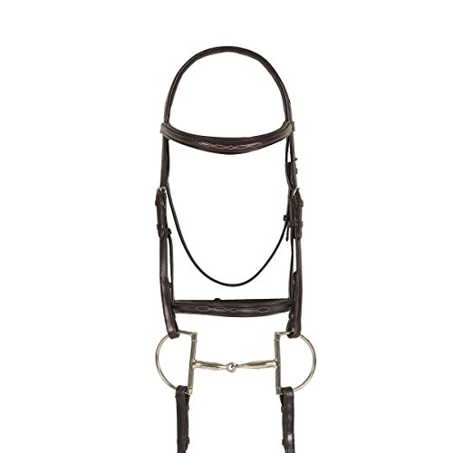 Ovation Breed Fancy Stitched Raised Padded Bridle - Arabian ()
