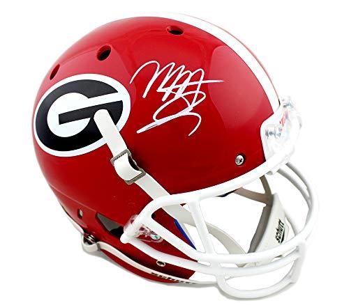 Mecole Hardman Autographed/Signed Georgia Bulldogs Schutt NCAA Full Size Helmet