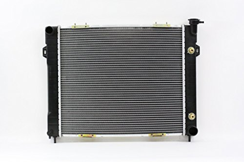 - Radiator - Pacific Best Inc For/Fit 2206 1998 Jeep Grand Cherokee AT/MT V8 Plastic Tank Aluminum Core