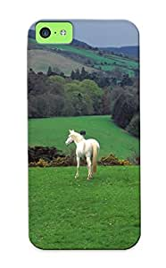 Iphone 5c Ikey Case Cover Skin : Premium High Quality Wicklow Countryside Case(nice Choice For New Year's Day's Gift)