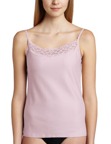 ExOfficio Women's Give-N-Go Lacy Shelf Bra Camisole, Light Grape, Medium