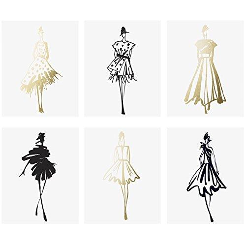 Room Foil (Fashion Sketches Print Set)