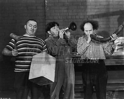 3 Three Stooges Moe Larry Curly musical instruments 8x10 11x14 16x20 photo 124 - Size 11x14 Your Sports Memorabilia Store