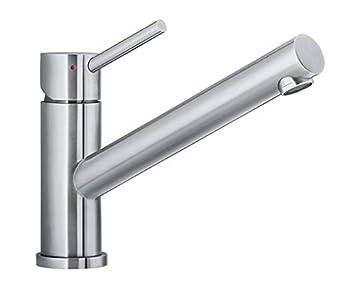 Schon Blanco Altura, Einhandmischer / Küchenarmatur Edelstahl Gebürstet, 1 Stück;  518720