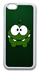 iphone 6 plus 5.5inch Case and Cover Cut The Rope Animation 01 TPU Silicone Rubber Case Cover for iphone 6 plus 5.5inch White