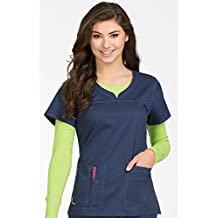 Med Couture Women's 'MC2' Lexi Scrub Top