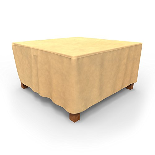 EmpirePatio Square Table Covers 58 in Long - Nutmeg by EmpireCovers