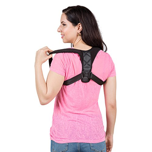 The Favel Back Brace Posture Corrector for Women & Men - Back Support to Relief Pain from Injury or Medical Problems by The Favel