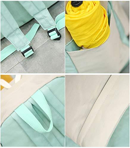 Vert Dos Main à HCXIN Vert Vert Femme porté au pour Sac O4vOwWqAP7