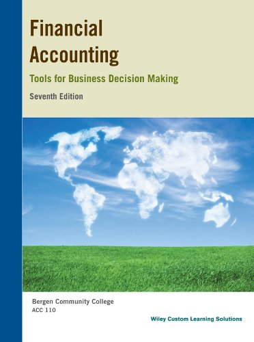 financial accounting tools for business decision making 7th edition pdf