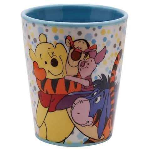 Westland Giftware Ceramic Tumbler, Disney Winnie the Pooh Best Friends, 8 (Pooh Ceramic)