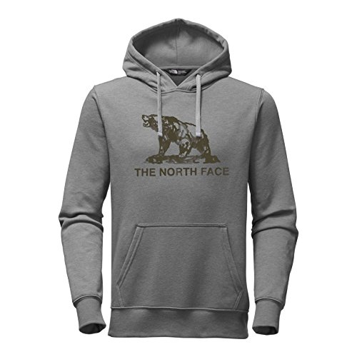 The North Face Men's Woodcut Pullover Hoodie - TNF Medium Grey Heather - ()