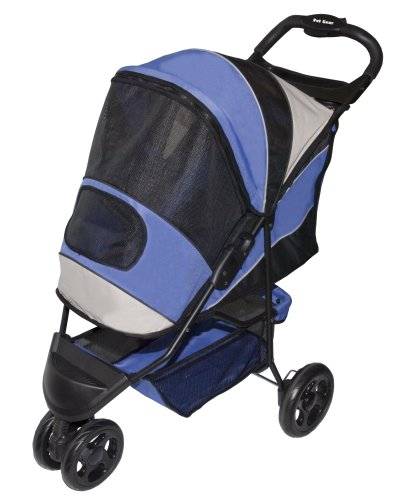 Pet Gear Sportster Pet Stroller for cats and dogs up to 45-pounds, Lilac by Pet Gear