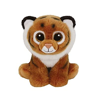 Ty TIGGS - Brown Tiger reg: Toys & Games