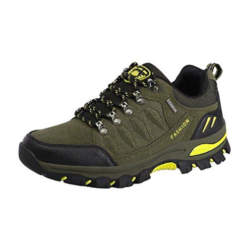 Suben 38 Impermeables Suben Zapatos Campo Asiáticos Través Antideslizantes De Adultos Colores Que Que Verde 44 a Ejercito 7 Unisex Zapatos Los TqnOf5g