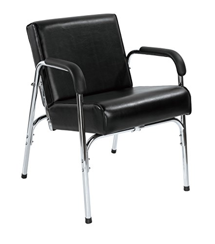 New Modern Fashion Auto Recline Black Shampoo Chair Barber Spa Beauty Salon