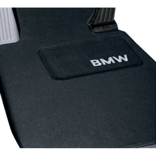 BMW X3 (F25) Carpeted Floor mats with Heel Pad - Anthracite