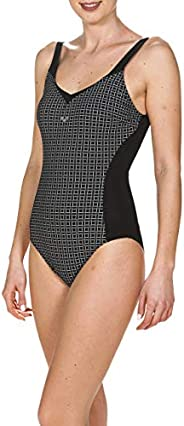 Arena Womens Bodylift Tummy Control Wing Back One Piece Shaping Swimsuit