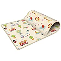 Oztev 200cm * 180cm Baby Play Mat Foldable Non-Slip Waterproof Portable for Toddler Children Kids Playing or Crawling…