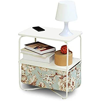Amazon Com 1208s 3 Tier Small Side Table Accent End Table With