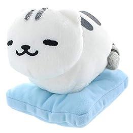 Neko Atsume Plush | Mack - 6 Inch | Kawaii Cat Plushy 5