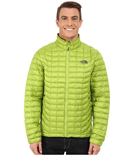The North Face Men's Thermoball Full Zip Jacket, Macaw Green, LG