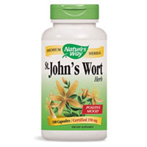 Nature's Way, St Johns Wort, 100 Count by Nature's Way