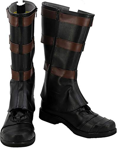 Captain America Boots (Cosplay Boots Shoes for Captain America)