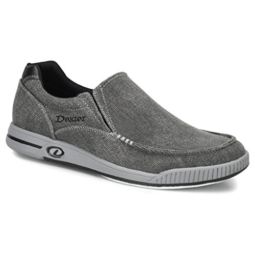 Dexter Mens Kam Bowling Shoes- 8 1/2, Charcoal/Grey, 8.5 by Dexter
