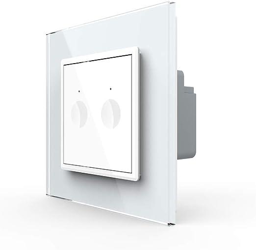 Point Touch Interrupteur changement série Interrupteur Prise Murale Blanc Nouvelle one série