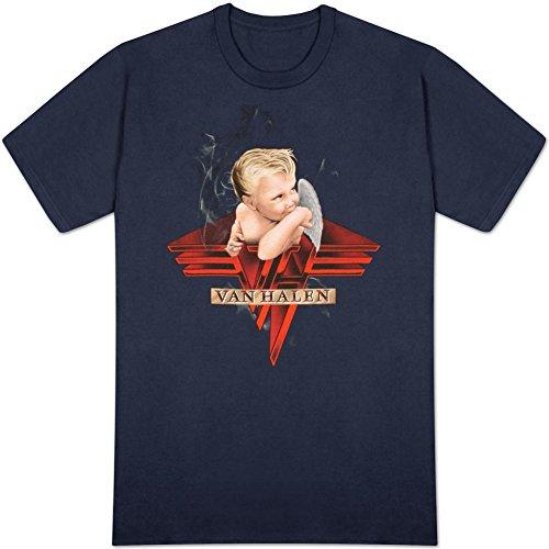 Van Halen Smoking Herren Marineblau T-Shirt