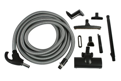 (Cen-Tec Systems 90320 Central Vacuum Accessory Kit with 30-Feet Low Voltage Hose)