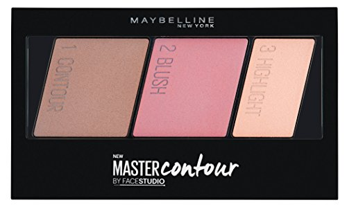 Maybelline Facestudio Master Contour Face Contouring Kit, Light to Medium, 0.35 oz.