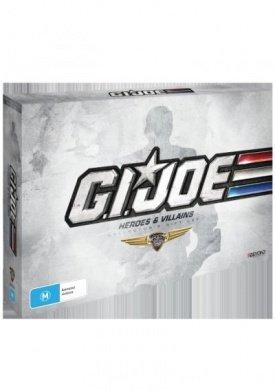 G.I. Joe: Heroes & Villains - Collector's Gift Set - 25-DVD Box Set ( G.I. Joe: A Real American Hero (Series 1 & 2) / G.I. Joe: The Movie / G.I. Joe: [ NON-USA FORMAT, PAL, Reg.4 Import - Australia ]